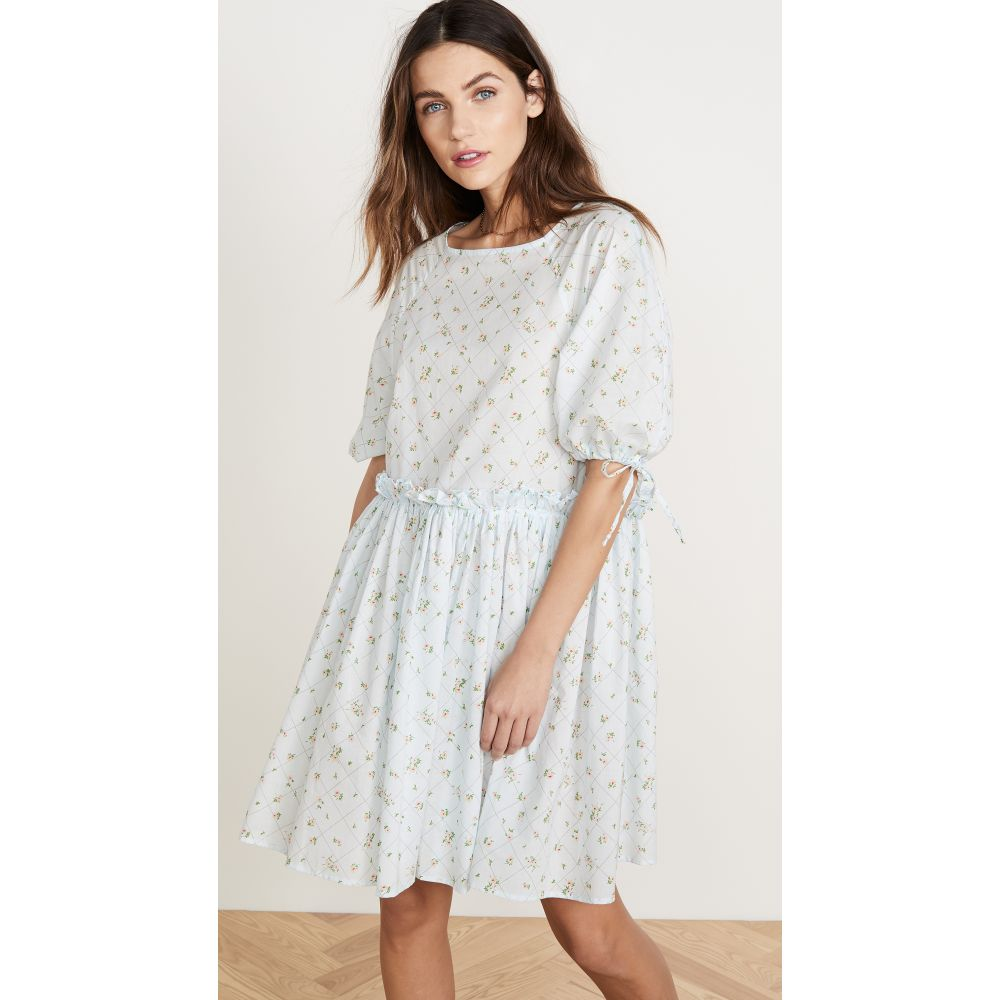 ナヤ レア Naya Rea レディース ワンピース ワンピース・ドレス【Karolina Dress】Blue Floral