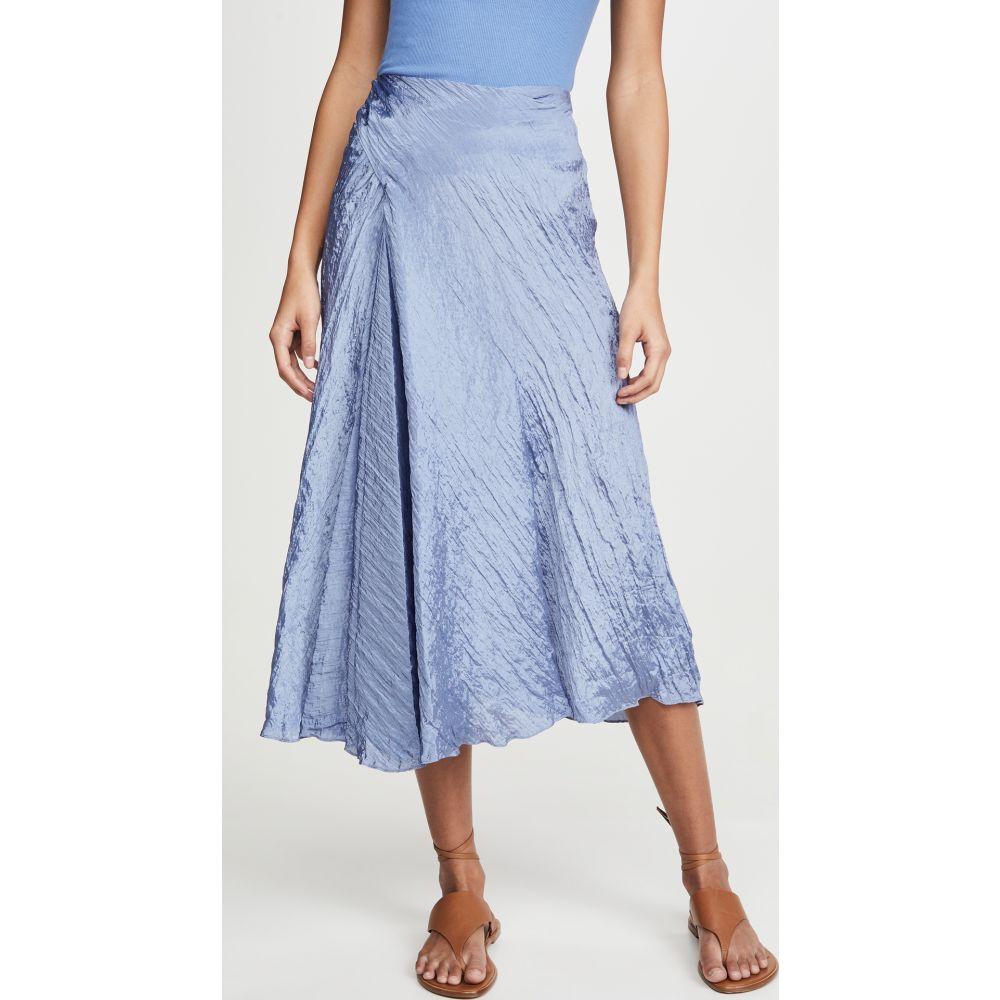 ヴィンス Vince レディース スカート 【Textured Drape Skirt】Sky Graphite
