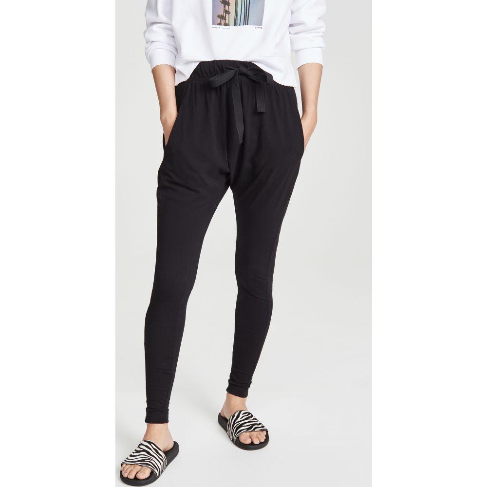 ベイシーク Bassike レディース ボトムス・パンツ 【Slouch Jersey Pants】Black
