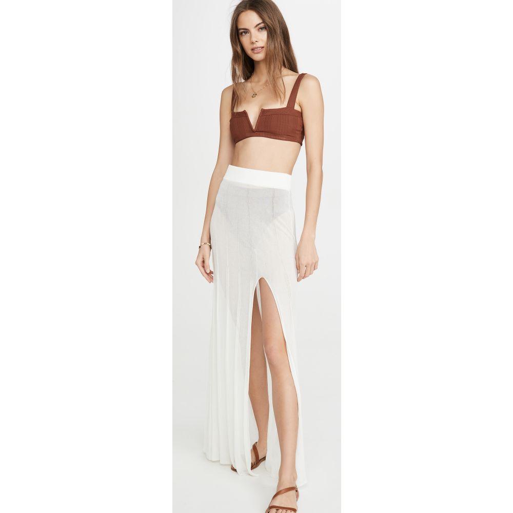 デヴォン ウィンザー Devon Windsor レディース ビーチウェア スカート 水着・ビーチウェア【Isbelle Skirt】Off-White