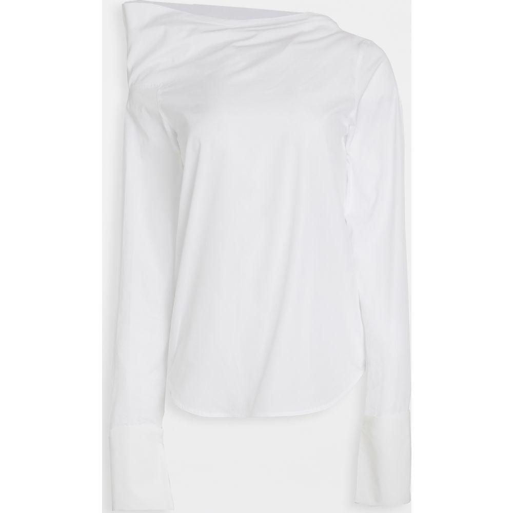 アナイスジョルダン Anais Jourden レディース オフショルダー トップス【Off Shoulder Poplin Top】White