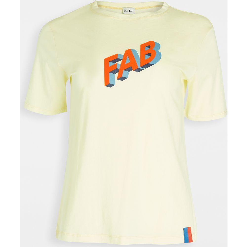 キュール KULE レディース Tシャツ トップス【The Modern FAB T-Shirt】Yellow