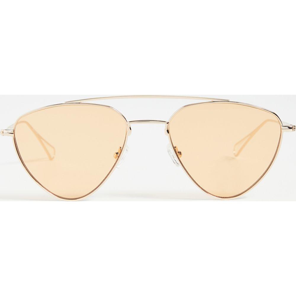 リンドン レオン Lyndon Leone レディース メガネ・サングラス 【Biscayne Sunglasses】Gold