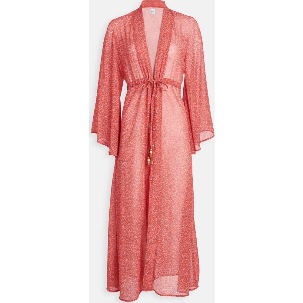 プラッシュ Plush レディース ビーチウェア 水着・ビーチウェア【Floral Kimono】Red