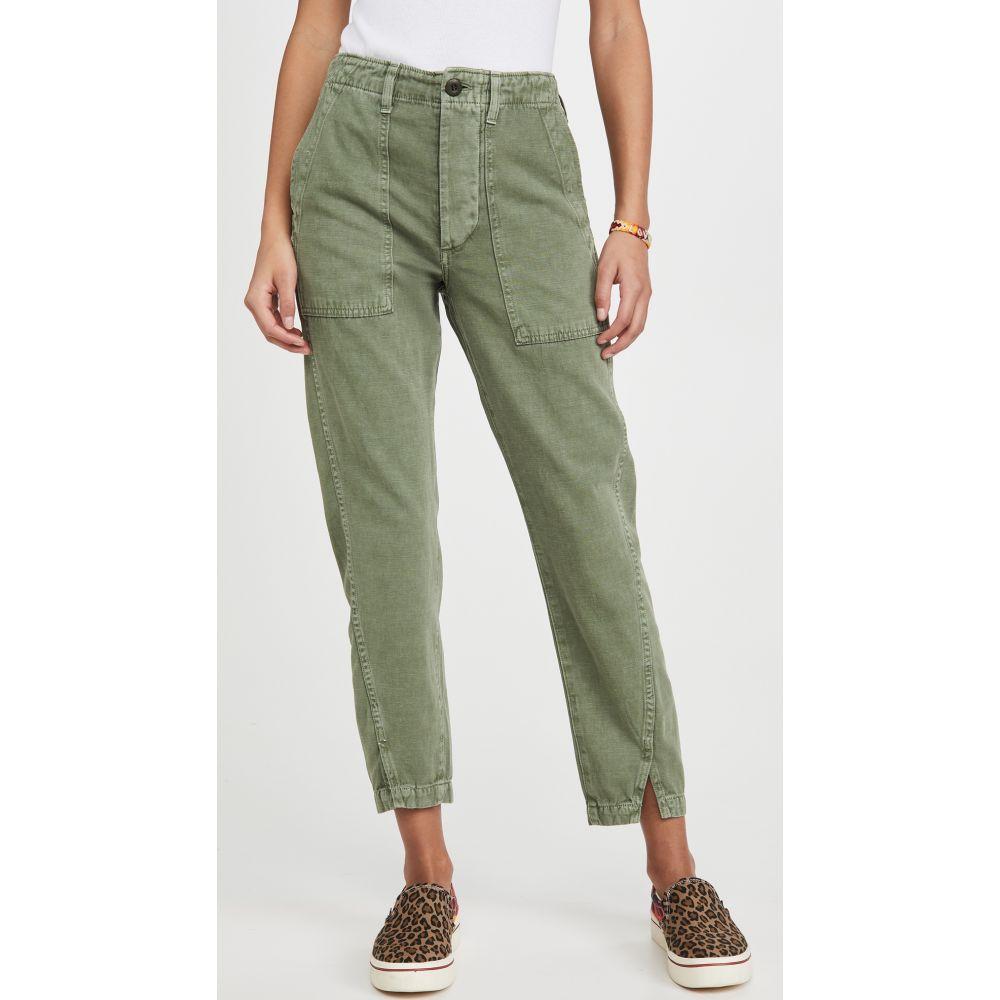 アモ AMO レディース ボトムス・パンツ 【army twist pants】Army Green