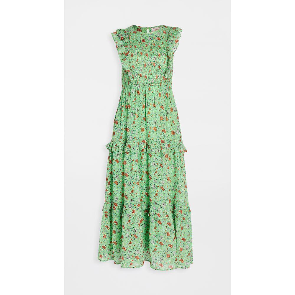 バンジャナン Banjanan レディース ワンピース ワンピース・ドレス【iris dress】Siesta Bud Green
