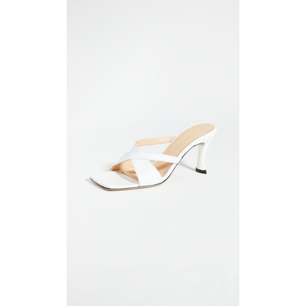 バイ ファー BY FAR レディース サンダル・ミュール シューズ・靴【kitty slides】White