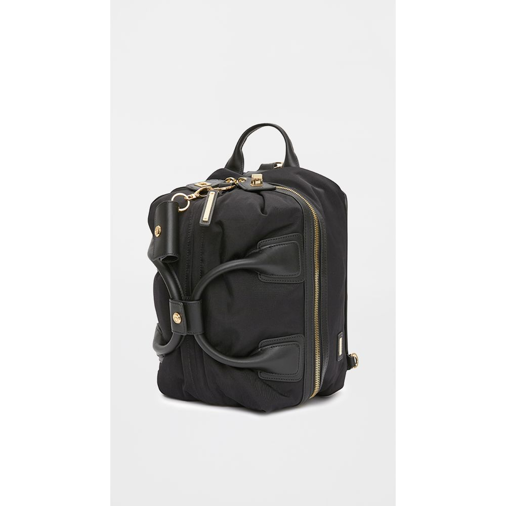 カーラ Caraa レディース バックパック・リュック バッグ【classic studio bag】Black/Gold