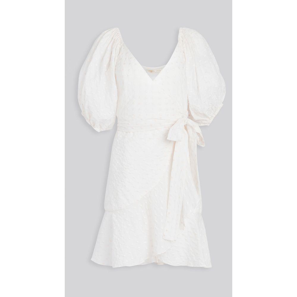 チャイナサルトル Charina Sarte レディース ワンピース ワンピース・ドレス【lila dress】White/Powder Pink