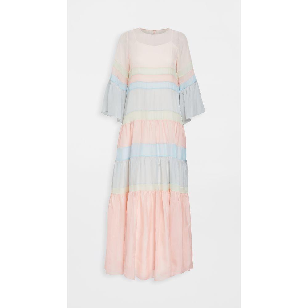 ディバイン ヘリテージ Divine Heritage レディース ワンピース ティアードドレス ワンピース・ドレス【tiered maxi dress】Multi Pastel
