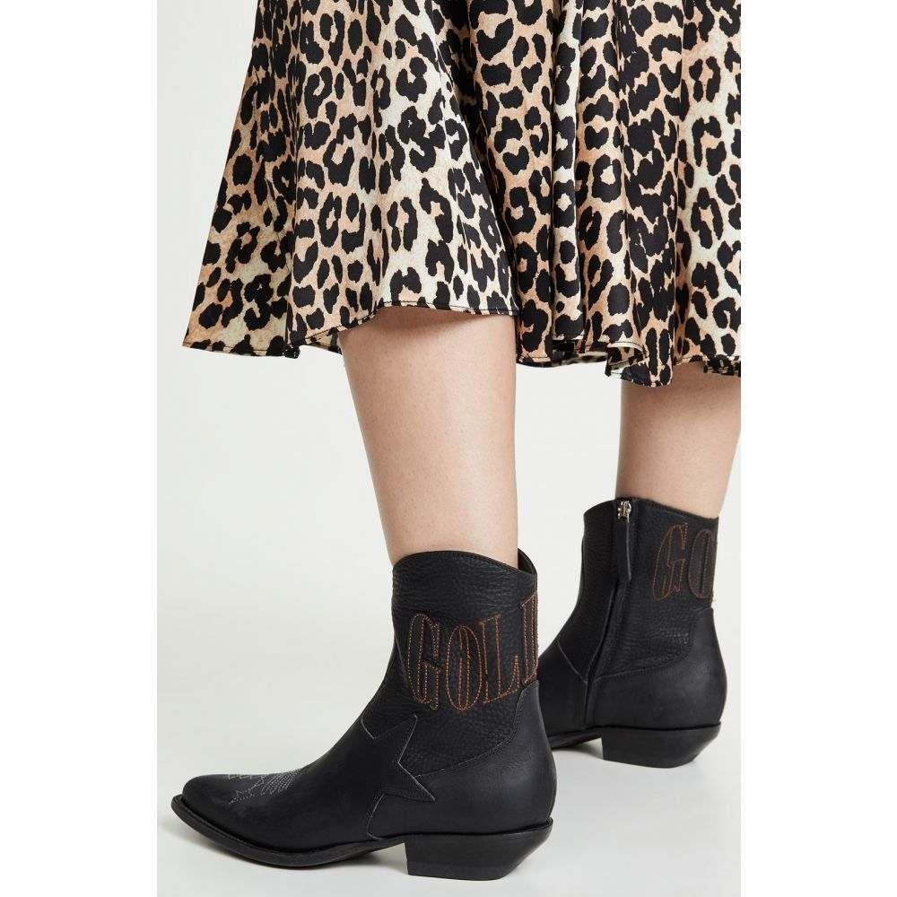 ゴールデン グース Golden Goose レディース ブーツ シューズ・靴【courtney boots】Black Bike