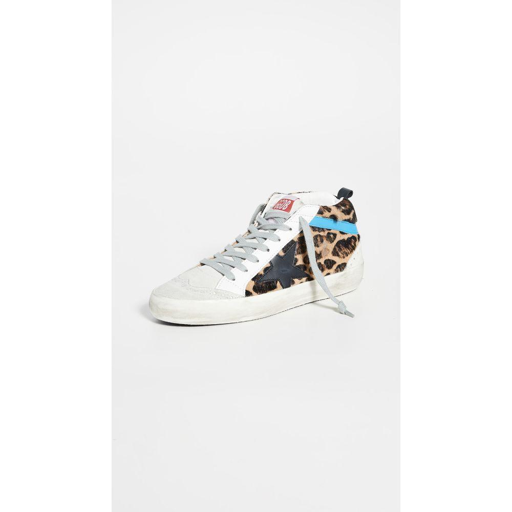 ゴールデン グース Golden Goose レディース スニーカー シューズ・靴【mid star sneakers】Leopard/Black