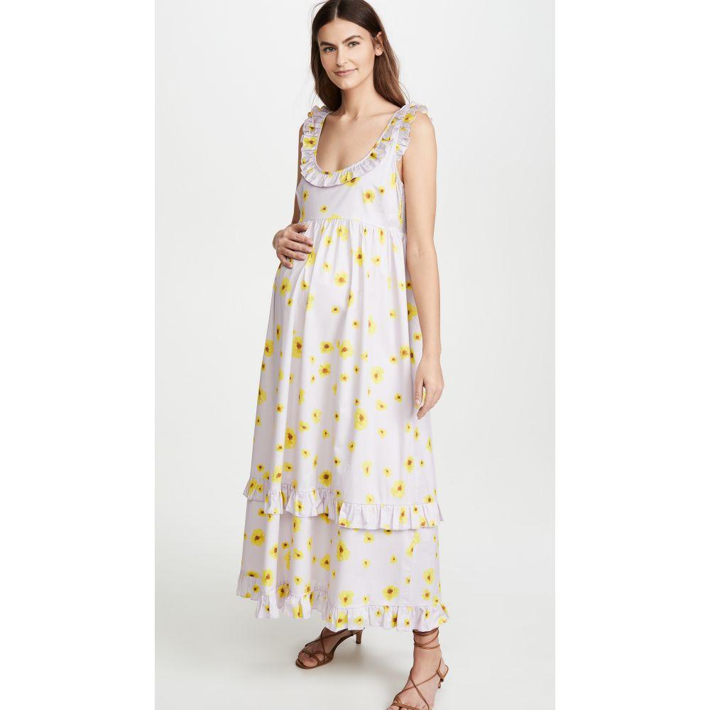 ハッチ HATCH レディース ワンピース ワンピース・ドレス【the rafaela dress】Lilac Poppy