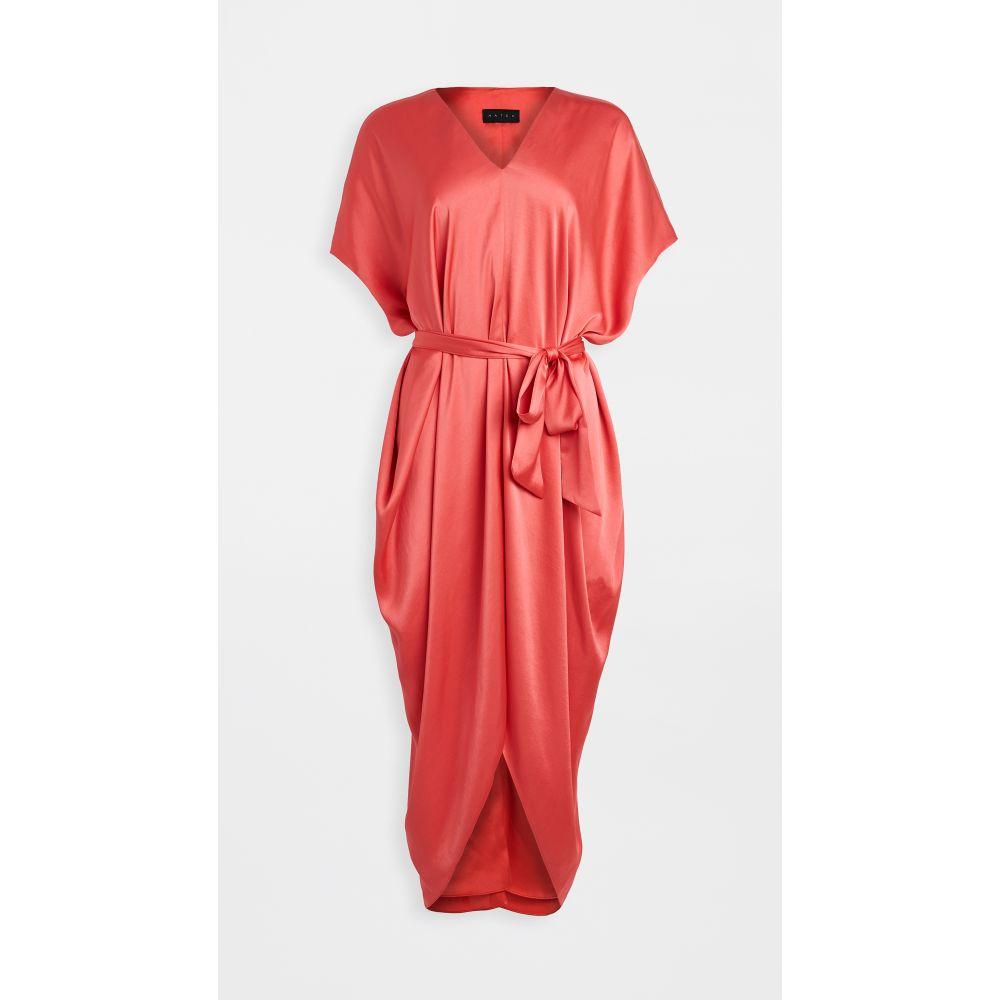 ハッチ HATCH レディース ワンピース ワンピース・ドレス【the riviera dress】Papaya