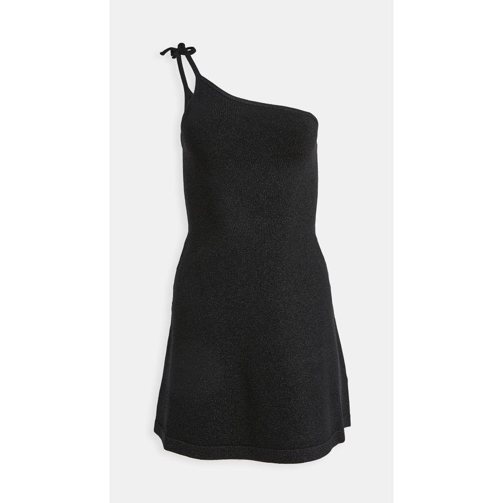 ジュース トリコット JoosTricot レディース ワンピース ミニ丈 ワンピース・ドレス【asymmetric mini dress】Black