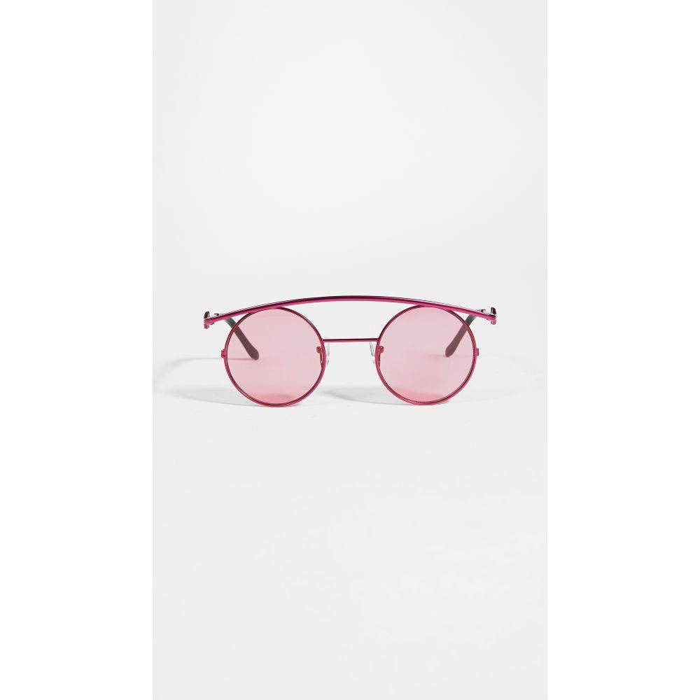 Karen Wazen レディース メガネ・サングラス 【retro's xl sunglasses】Pink