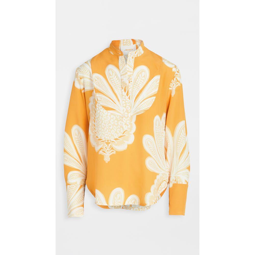 ラダブルジェー La Double J レディース ブラウス・シャツ トップス【portofino shirt】Pineapple