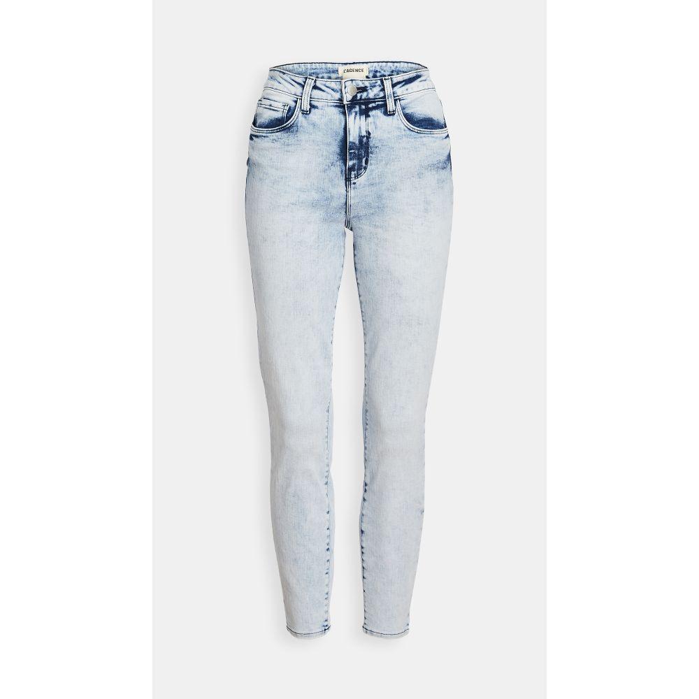 ラジャンス L'AGENCE レディース ジーンズ・デニム ボトムス・パンツ【margot high rise skinny jeans】Celestial