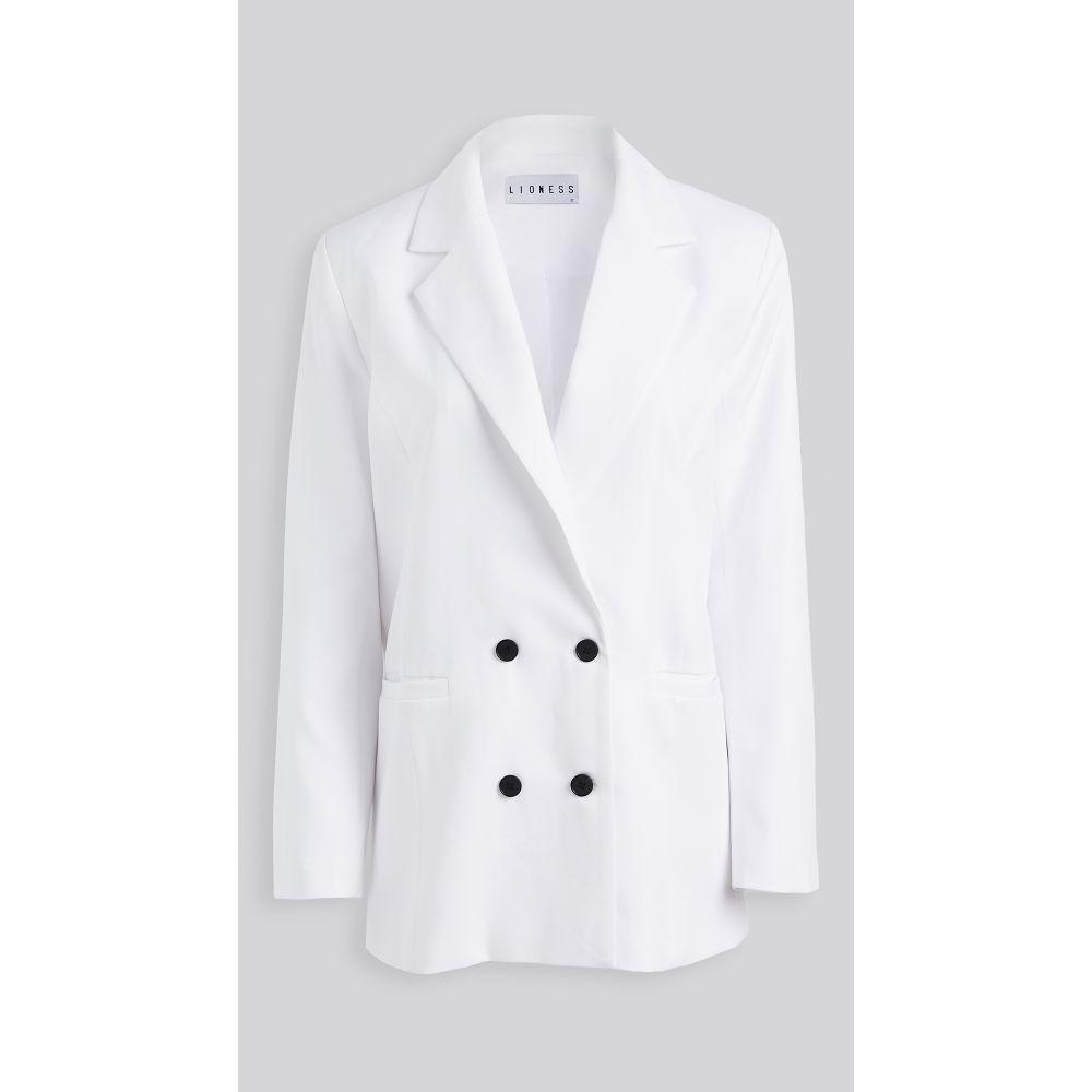 ライオネス Lioness レディース スーツ・ジャケット アウター【wyoming blazer】White