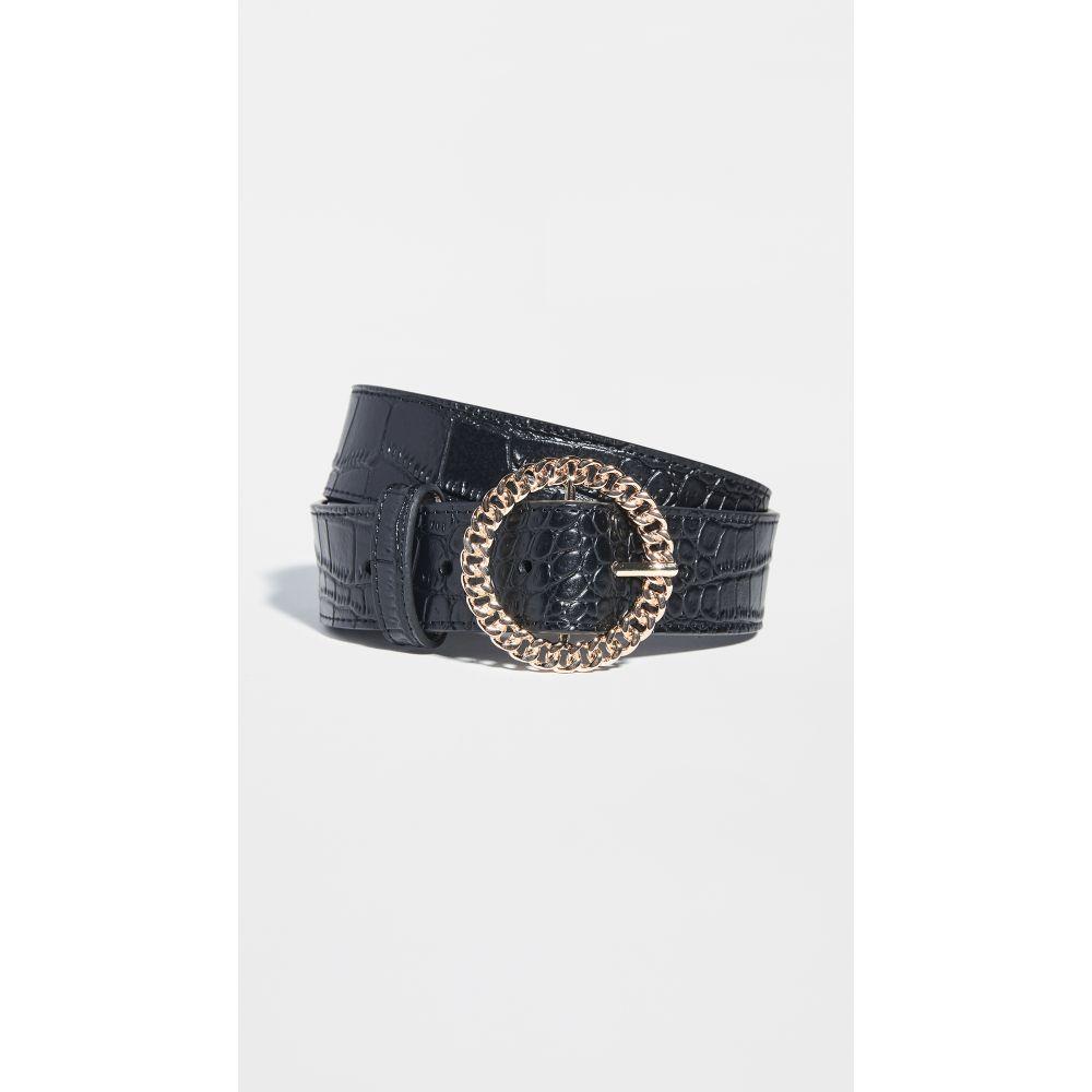 ラブエージェー Luv Aj レディース ベルト 【the blair chain link belt】Black/Gold