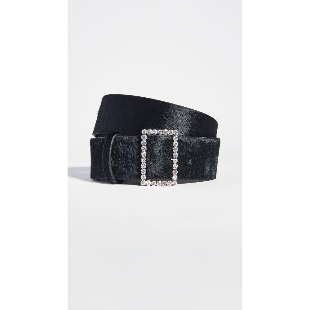ラブエージェー Luv Aj レディース ベルト 【the crystal bucket belt】Black/Silver