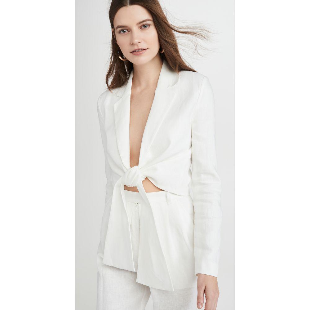 マラ ホフマン Mara Hoffman レディース ブラウス・シャツ トップス【catalina blouse】White