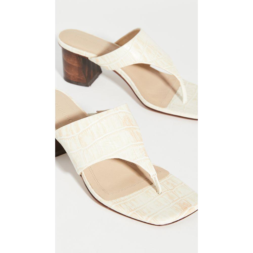 マリ ジウディセリ Mari Giudicelli レディース サンダル・ミュール シューズ・靴【copa sandals】Off-White