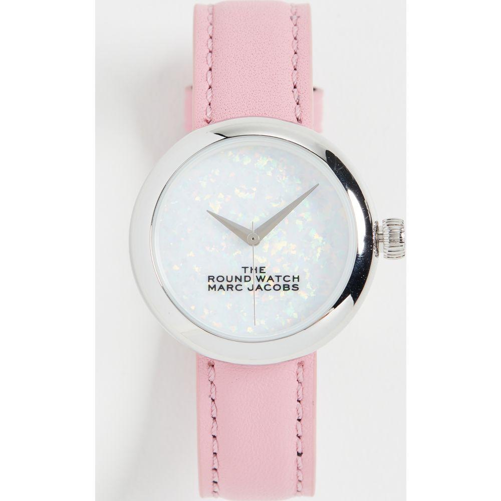 マーク ジェイコブス The Marc Jacobs レディース 腕時計 【the round watch 32mm】White