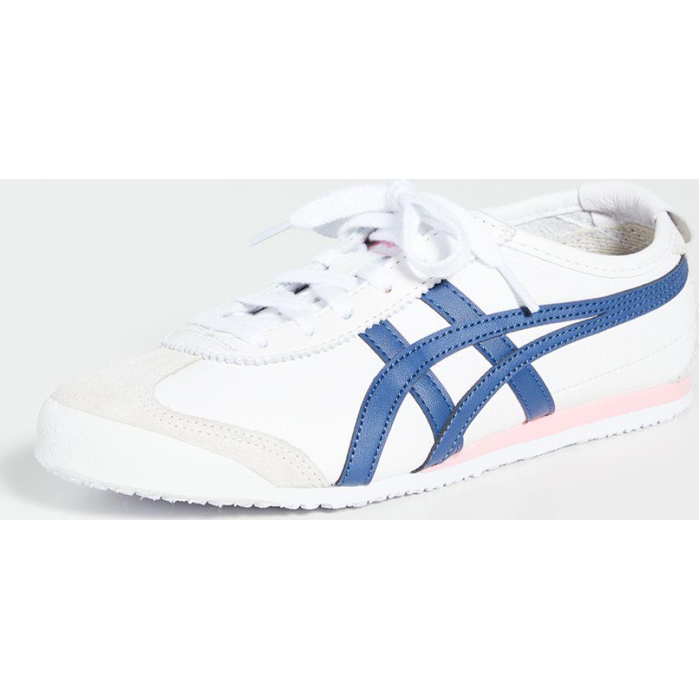 オニツカタイガー Onitsuka Tiger レディース スニーカー シューズ・靴【mexico 66 sneakers】White/Independence Blue