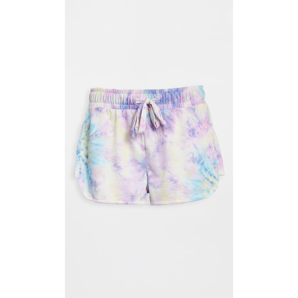 オンジー Onzie レディース ショートパンツ ボトムス・パンツ【divine shorts】Neon Tie Dye