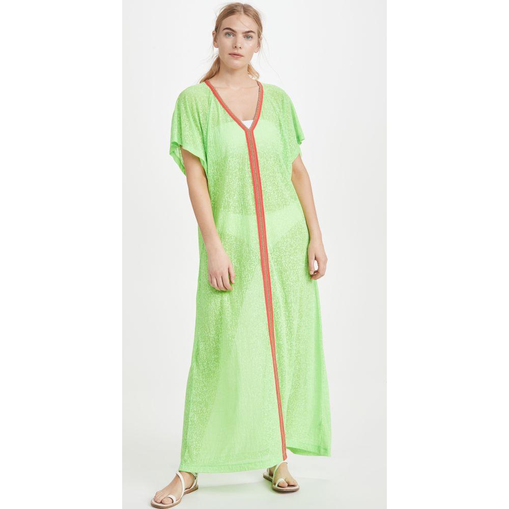 ピトゥサ Pitusa レディース ビーチウェア ワンピース・ドレス 水着・ビーチウェア【abaya maxi dress】Lime
