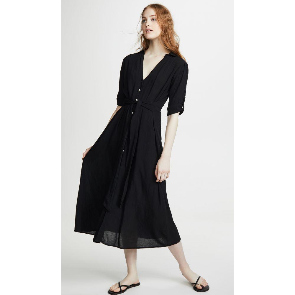 プラヤ ルシラ Playa Lucila レディース ビーチウェア ワンピース・ドレス トップス 水着・ビーチウェア【shirt cover up dress】Black