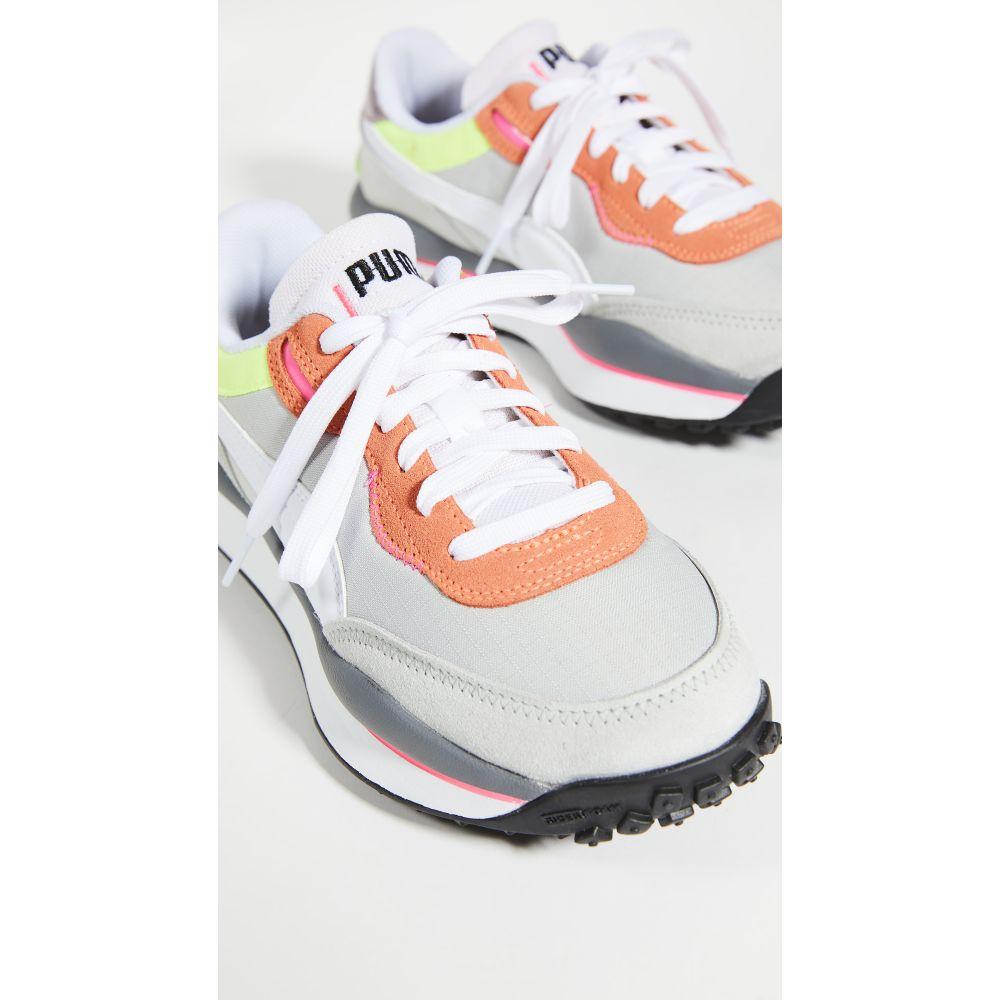 プーマ PUMA レディース スニーカー シューズ・靴【rider 020 game on sneakers】Fizzy Orange