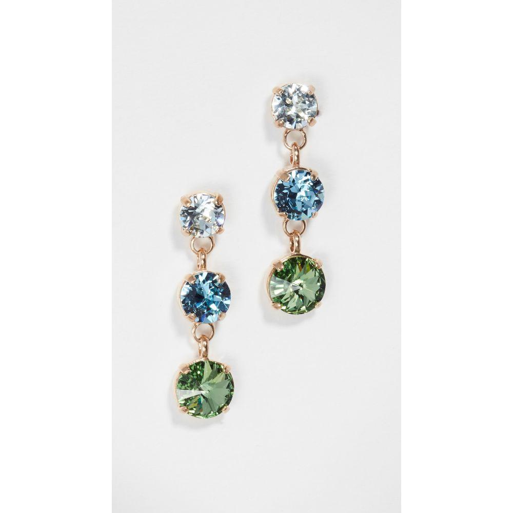ロクサーヌ アスリーヌ Roxanne Assoulin レディース イヤリング・ピアス ジュエリー・アクセサリー【indian sapphire just us three earrings】Blue/Green