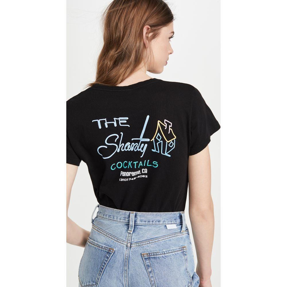 リダン RE/DONE レディース Tシャツ トップス【the shanty classic tee】Black