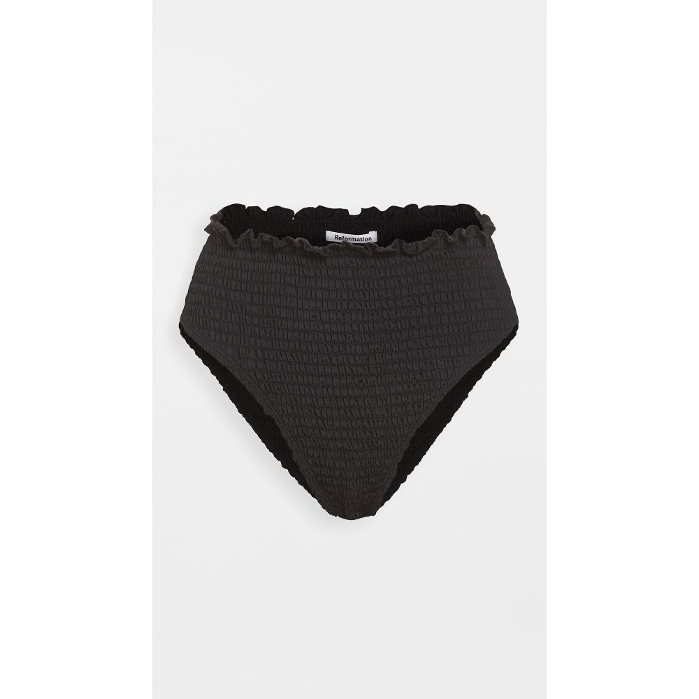 リフォーメーション Reformation レディース ボトムのみ 水着・ビーチウェア【ventura bikini bottoms】Black