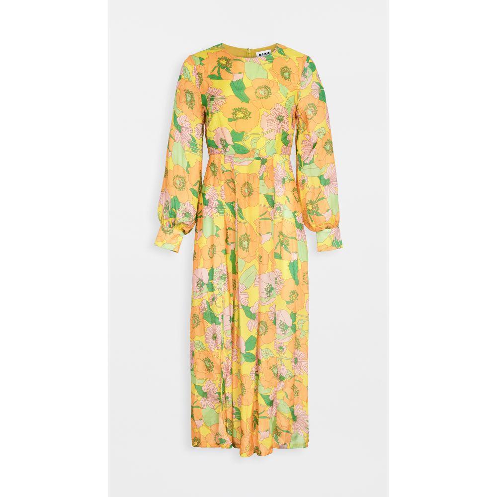リキソ RIXO レディース ワンピース ワンピース・ドレス【emma dress】's Floral