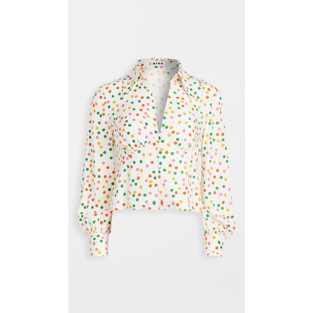 リキソ RIXO レディース ブラウス・シャツ トップス【daria blouse】Pollen Spot