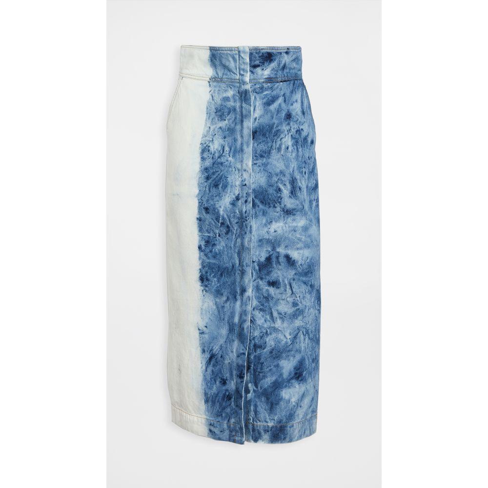 シー Sea レディース ロング・マキシ丈スカート スカート【doris long line skirt】Light Wash