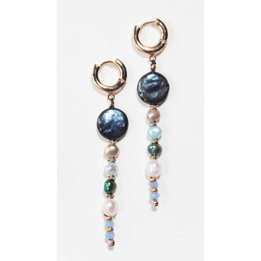 シャシ Shashi レディース イヤリング・ピアス ジュエリー・アクセサリー【king triton earrings】Gold/Blue Multi