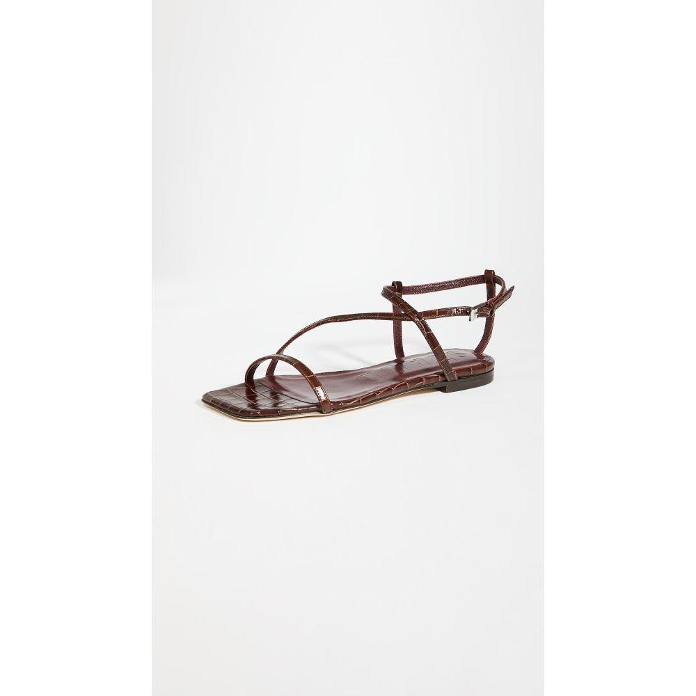 スタウド STAUD レディース サンダル・ミュール シューズ・靴【gitane sandals】Brown Faux Croc
