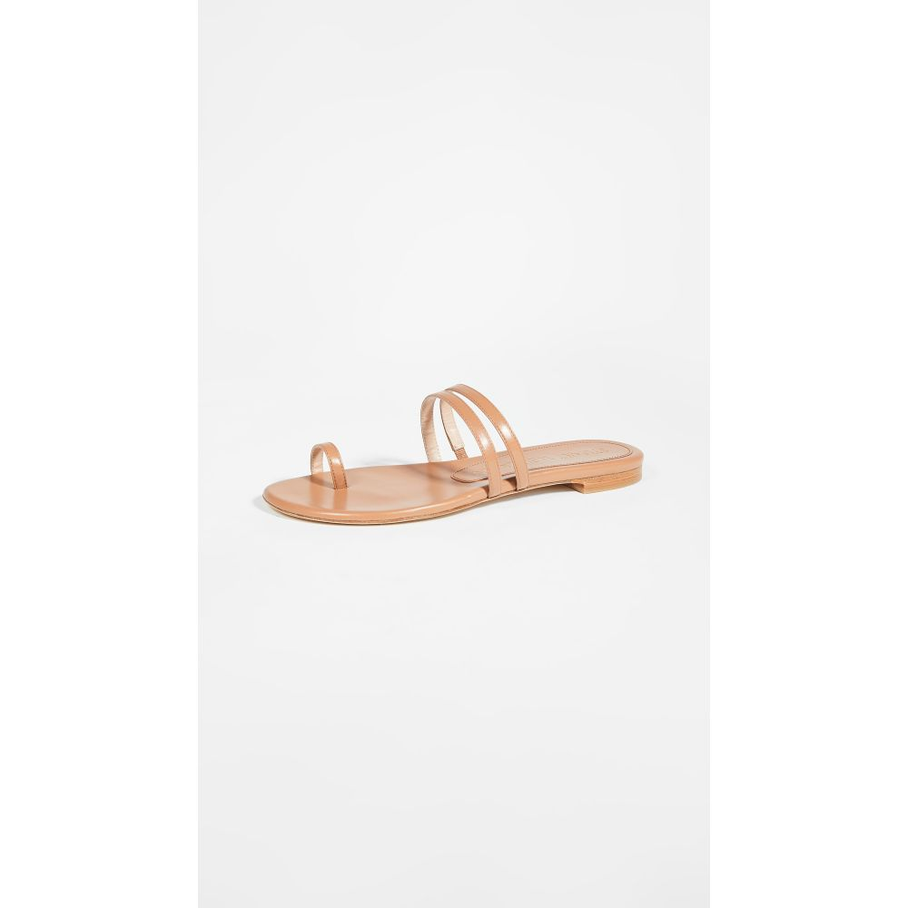 スチュアート ワイツマン Stuart Weitzman レディース サンダル・ミュール シューズ・靴【leonita slide sandals】Tan
