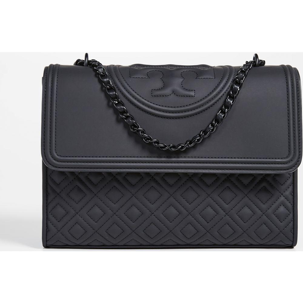 トリー バーチ Tory Burch レディース ショルダーバッグ バッグ【fleming matte shoulder bag】Black