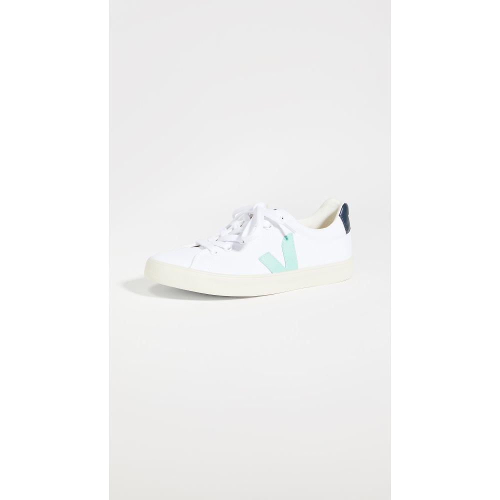 ヴェジャ Veja レディース スニーカー シューズ・靴【esplar se canvas sneakers】White/Turquoise/Nautico