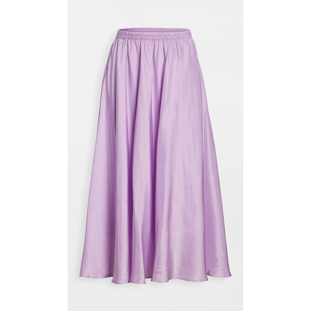 ヴィンス Vince レディース スカート 【gathered pull on skirt】Lilac