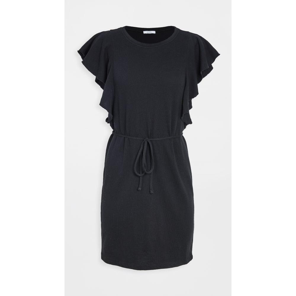 ゼットサプライ Z Supply レディース ワンピース ワンピース・ドレス【capri ruffle dress】Black