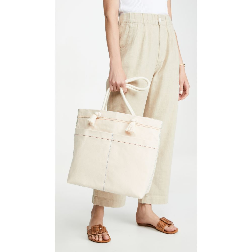メイドウェル Madewell レディース トートバッグ バッグ【The Canvas Transport Tote: Corded Handle Edition】Vintage Canvas Multi