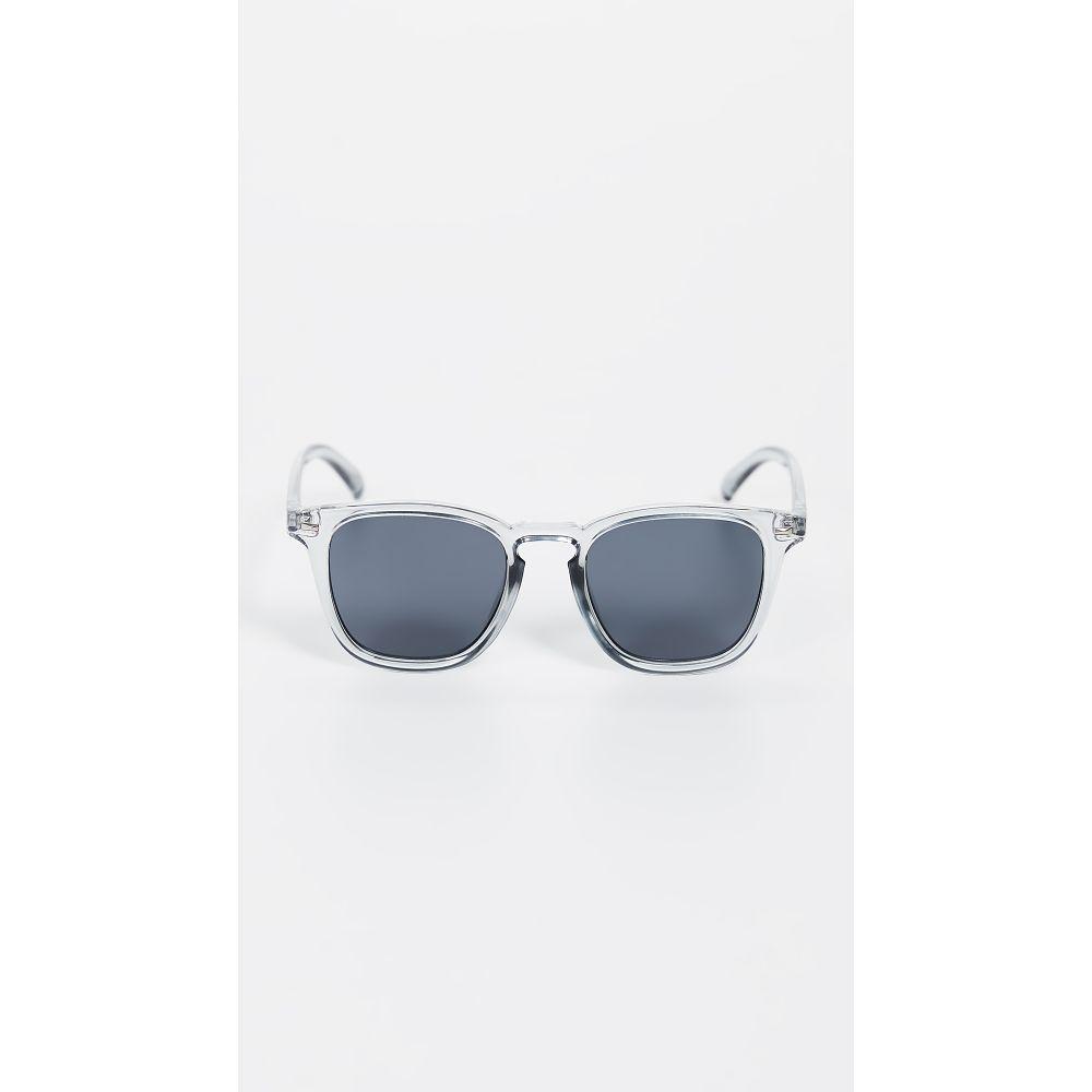 ル スペックス Le Specs レディース メガネ・サングラス 【No Biggie Sunglasses】Pewter/Smoke Mono