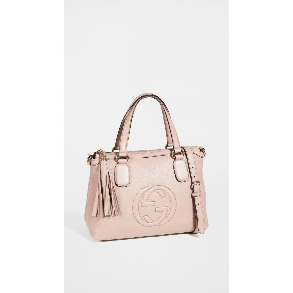 ショプボップ Shopbop Archive レディース ショルダーバッグ バッグ Gucci Soho Shoulder Bag Pink 48時間限定ポイント 海外 ブランド セット 年始 お月見 名入れ 特価