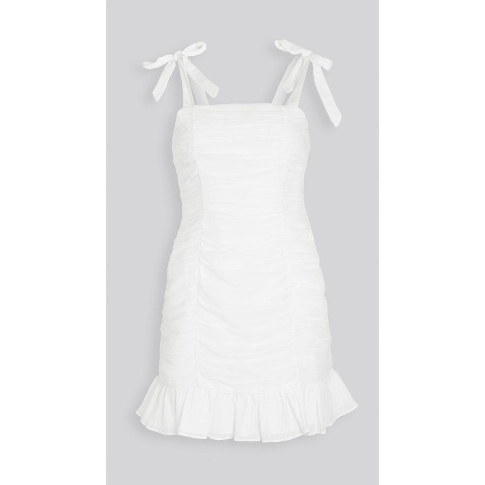 ミンクピンク MINKPINK レディース ワンピース ミニ丈 ワンピース・ドレス【Little Darling Mini Dress】White